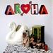 Aroha wall decal – Medium