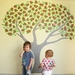 Pohutukawa tree wall decal – large wall mural