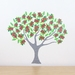 Pohutukawa Tree wall decal – Medium