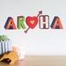Aroha wall decal – Small