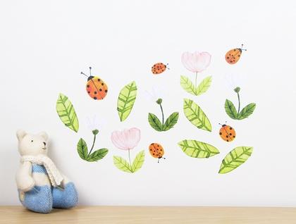 Ladybirds wall decal – medium