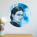Frida Kahlo dot wall decal – medium