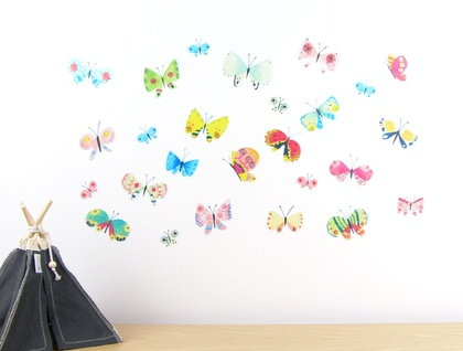 Butterflies wall decal – medium