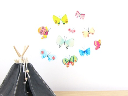 Butterflies wall decal – small