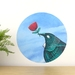 Tui Loves... dot wall decal – medium