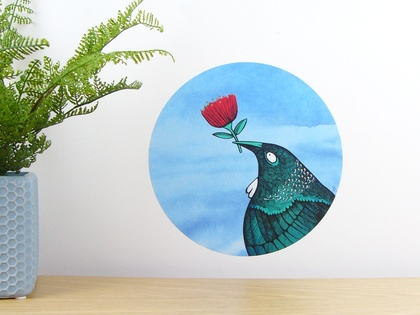 Tui Loves... dot wall decal – small