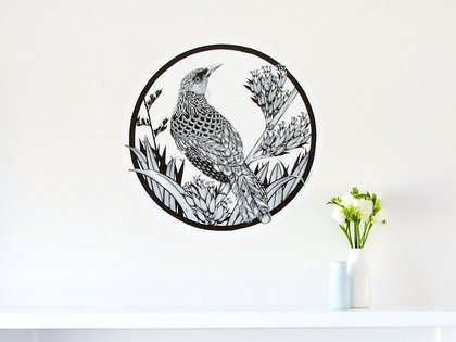 Tui dot wall decal – large