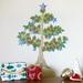 Pohutukawa Christmas Tree wall decal – large