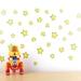 Yellow Stars wall decal – Medium