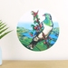 Kereru small dot wall decal by Ira Mitchell-Kirk