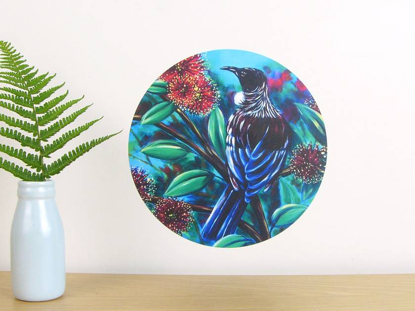 Tui small dot wall decal by Ira Mitchell-Kirk