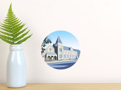 Canterbury Museum tiny dot wall decal by Ira Mitchell-Kirk