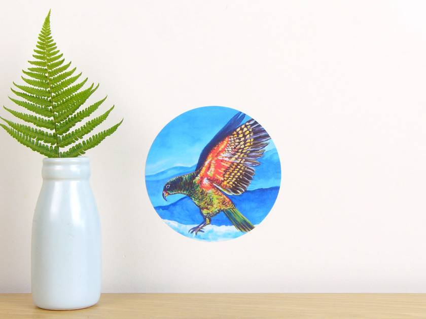 Kea tiny dot wall decal by Ira Mitchell-Kirk