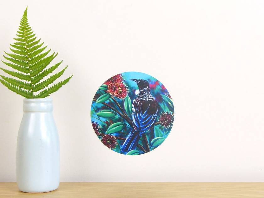 Tui tui dot wall decal by Ira Mitchell-Kirk