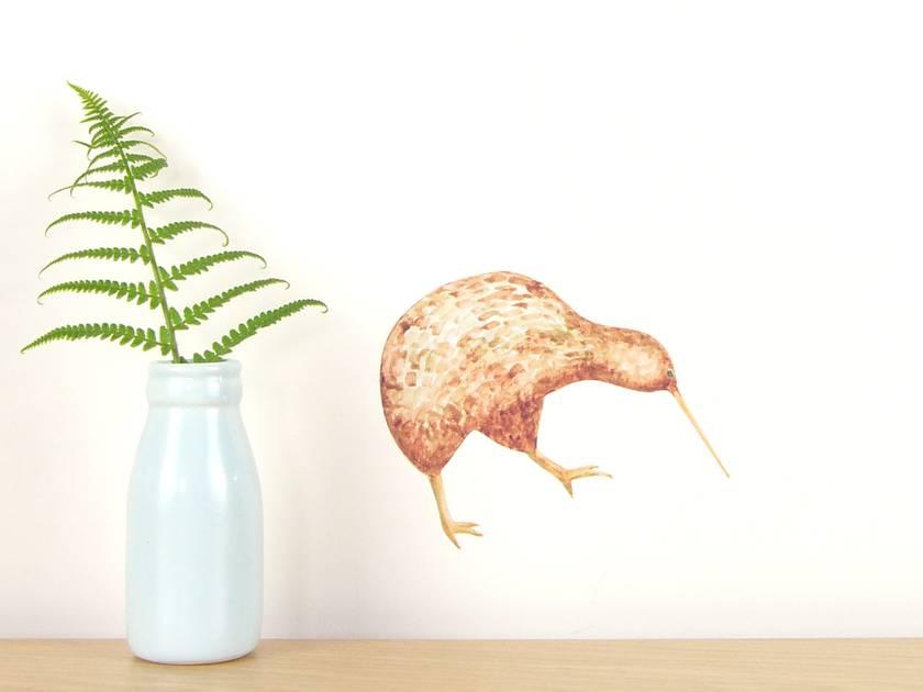 Kiwi tiny wall decal