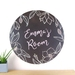 Black Chalkboard dot wall decal – extra large