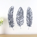 Feather wall decals – medium