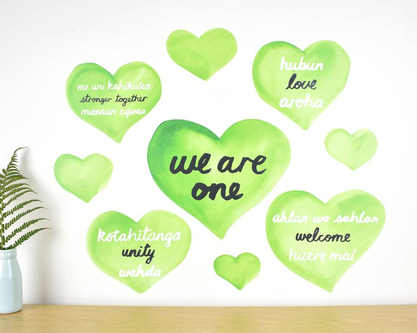 We are one wall decal – Large