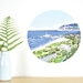Sumner small dot wall decal by Ira Mitchell