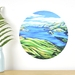 Akaroa Harbour small dot wall decal by Ira Mitchell