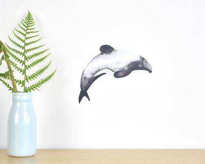 Dolphin tiny wall decal
