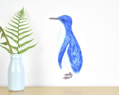 Penguin small wall decal