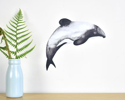 Dolphin small wall decal