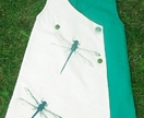 Dragonfly wrap dress