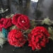 Gorgeous handmade ROSE brooches -