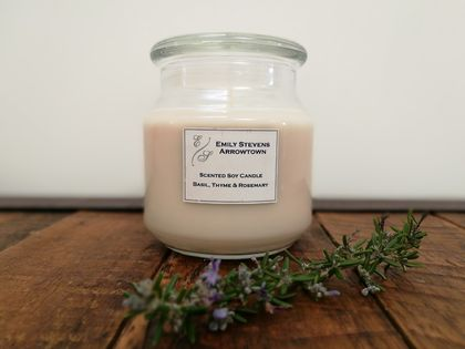 'Marie' Large 100% Soy Candle