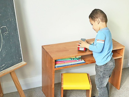 Kcimory Kids Table & Chair or Desk & Stool