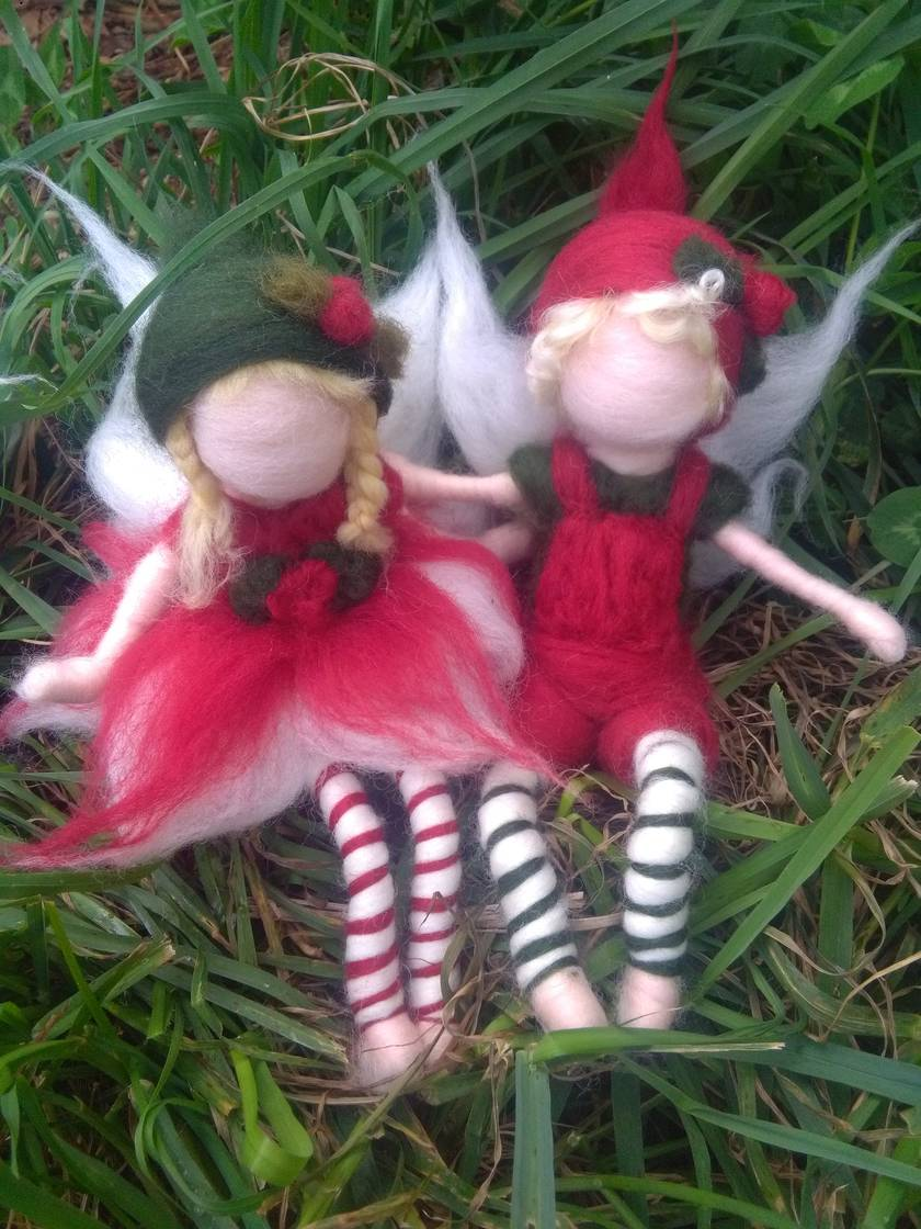 Christmas Fairies and Pixies