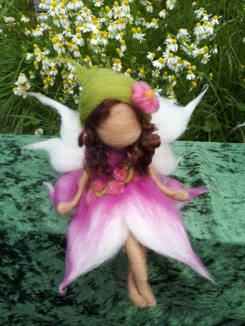 Orchid Brunette Fairy