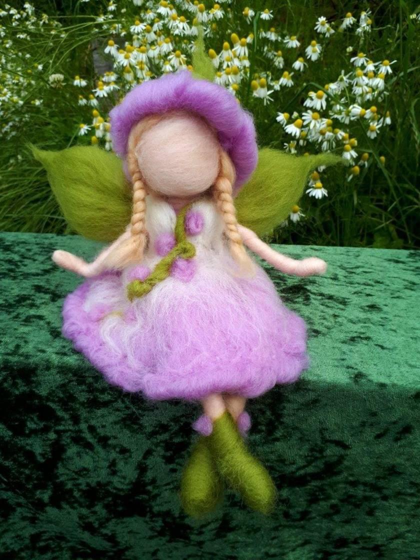 Sweet Lavender Flower Fairy