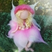 Sweet Pink Flower Fairy
