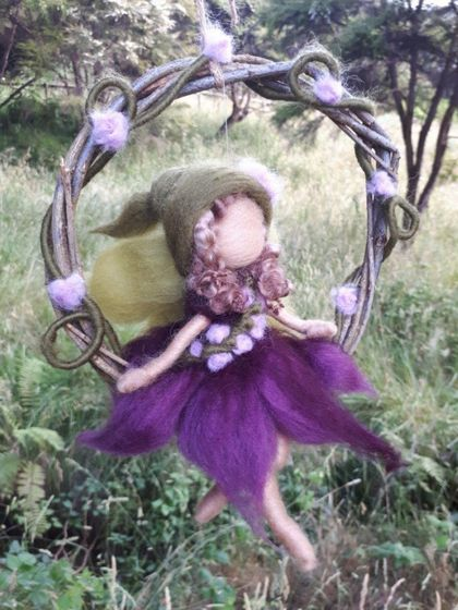 Purple Garland Fairy