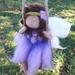 Lavender Blue Swinging Fairy