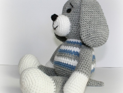 Cute  Hand Crochet Puppy