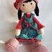 Sweet Sue  in Pink. A hand Crochet Doll
