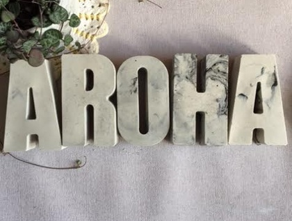 Large Wall Letter set - AROHA