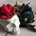 Barbara Anne Skull Vase