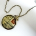 Romantic Paris ... Gorgeous brass locket with divine detailed image