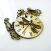 Times flies by - Steampunk Inspired Vintage pendant - A one-off piece on Sale
