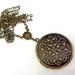 Memory Keeper Locket - Floral Fabulous Vintage Inspired