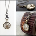 Hooked on Steampunk - Vintage watch with a Swarovski Crystal  - Timeless Relic