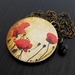 Poppies - Solid Brass - Anzac poppy flower themed