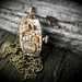Vintage Oblong - Steampunk Inspired Beauty with a Swarovski crystal