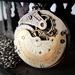 Stunning Nickel & Gilt Pocket watch Movement - Circa 1892 - Victorian Steampunk Inspired