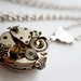Simply Petite & Perfect - Vintage Steampunk Inspired Pendant
