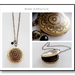 Mandala - Solid Brass Locket Pendant